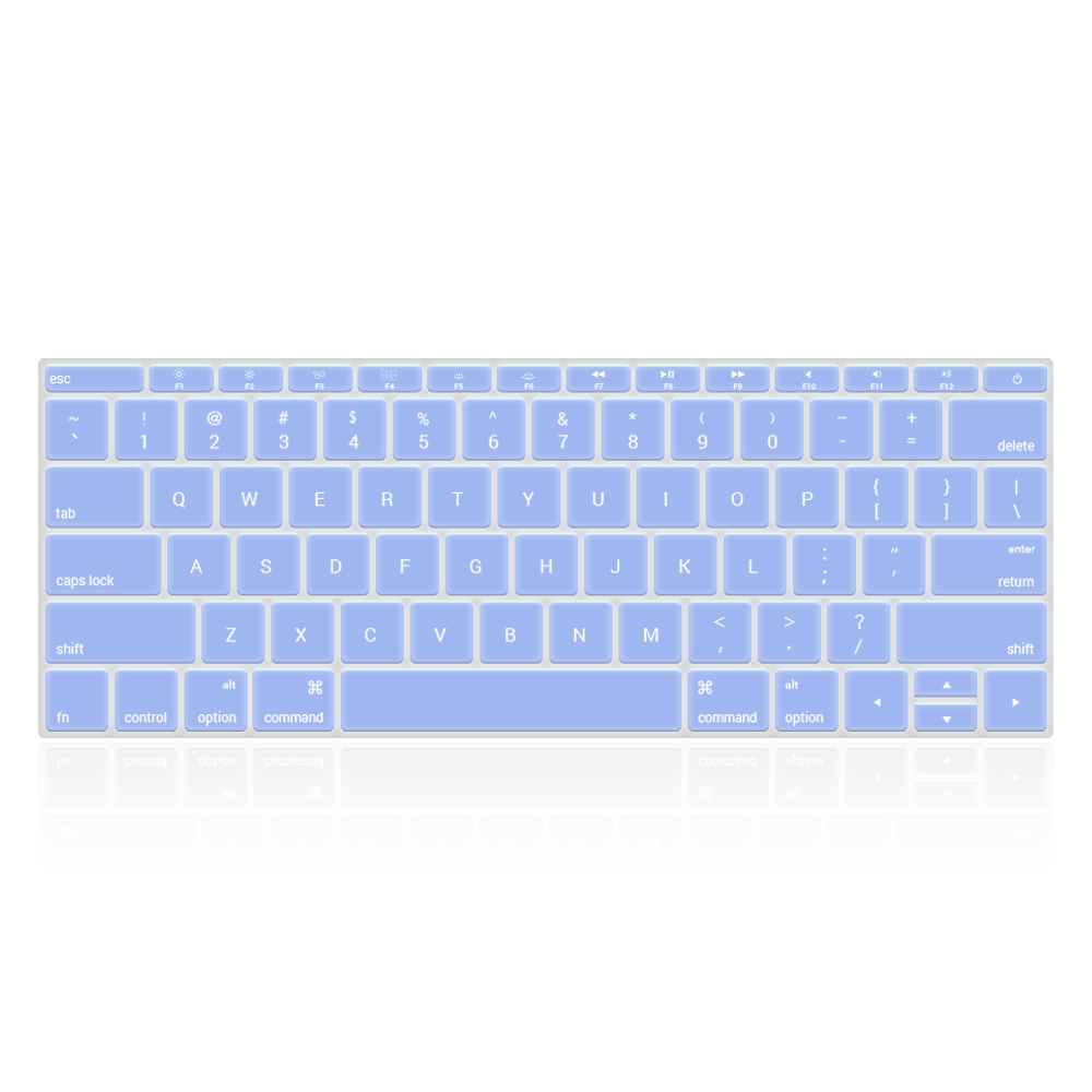 Keyboard Cover - Macbook Pro 13'' with Function Keys