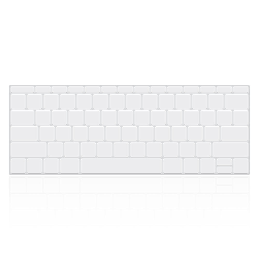 Keyboard Cover - Macbook Pro 13'' with Function Keys (TPU)