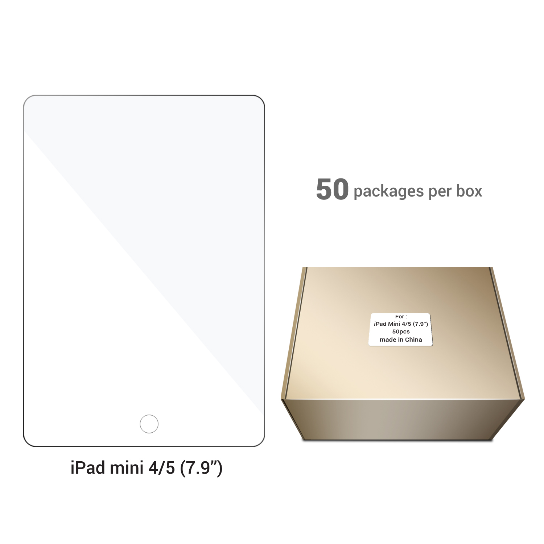 Screen Protector 7.9''– iPad Mini 4/5 (50 pcs)