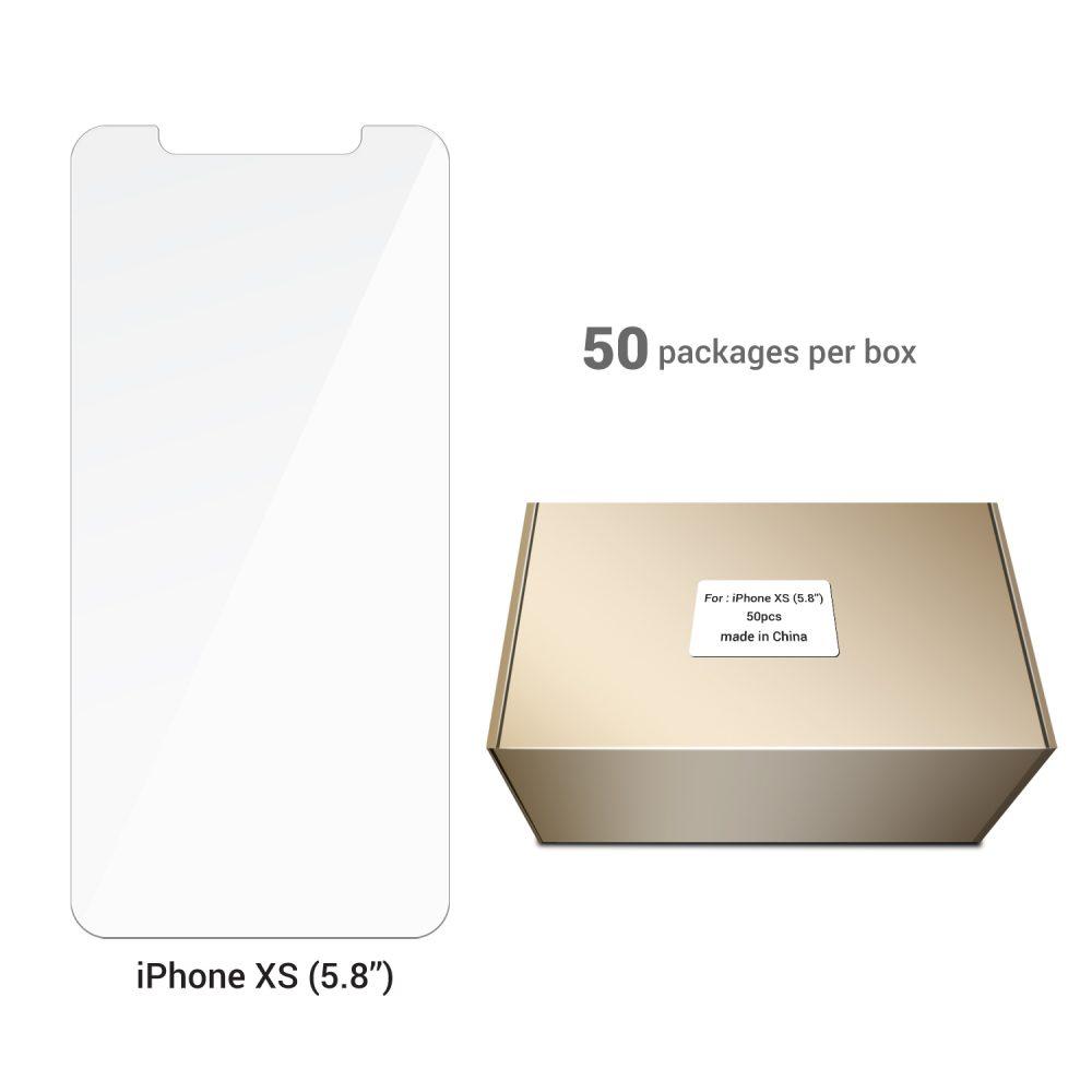 Screen Protector 5.8''– iPhone XS (50 pcs)
