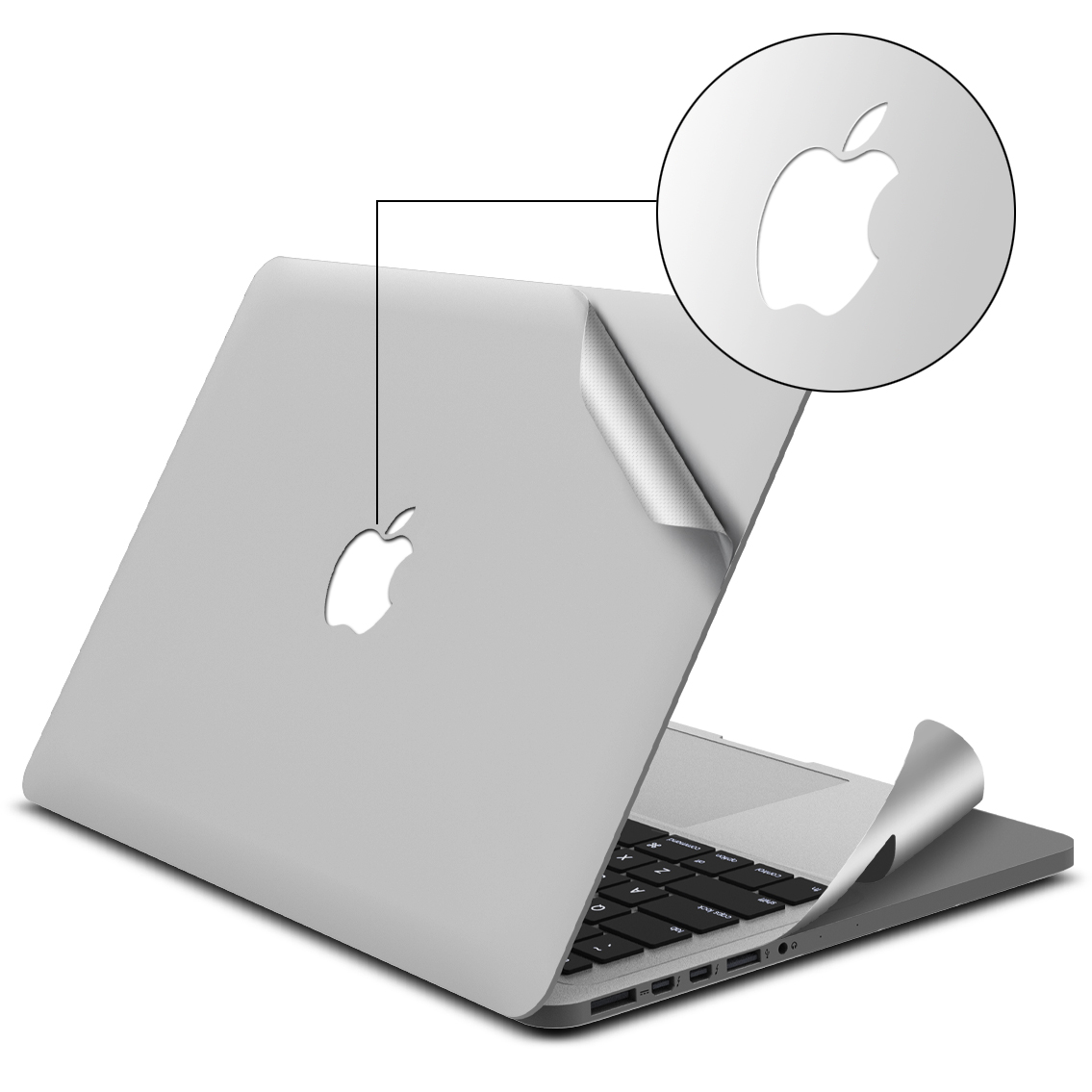 Skin - Full body for Macbook Pro 13'' 2012-2015 (10 packages)