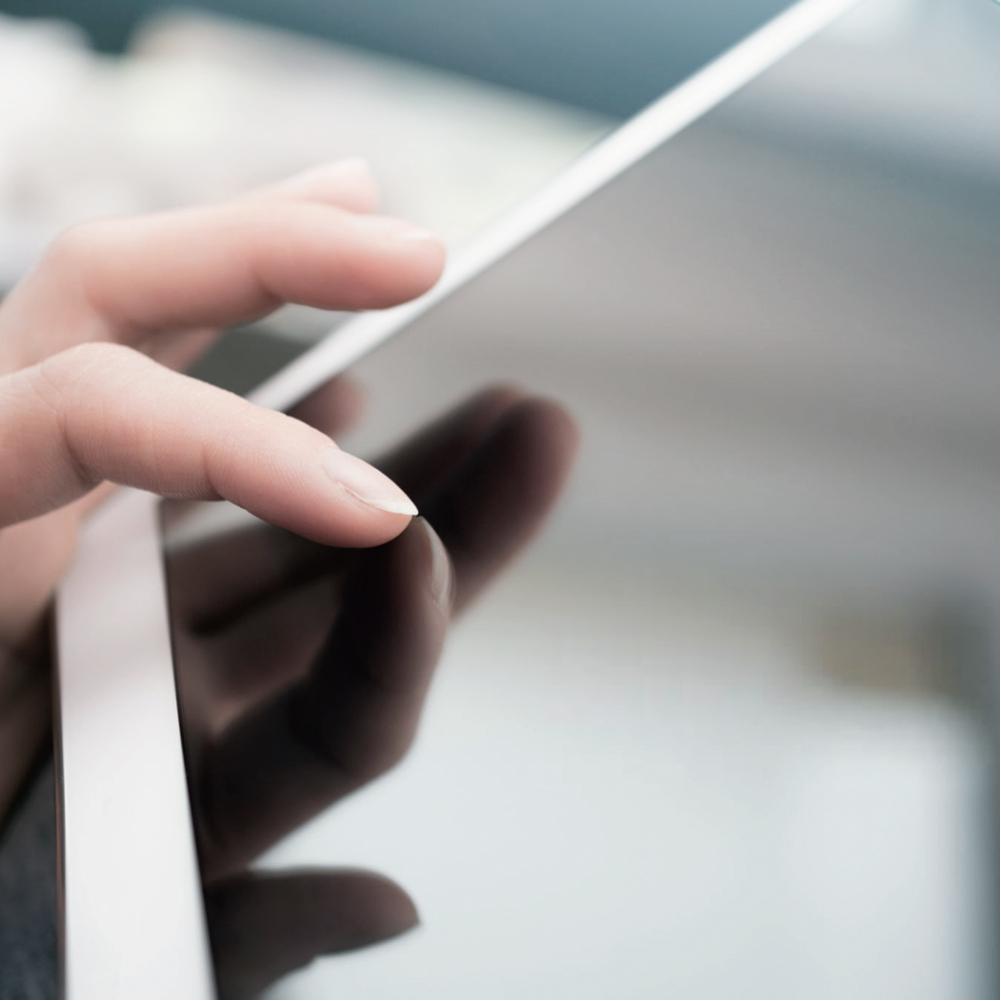iPad screen protector